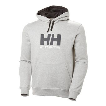 Sweat à capuche homme 33977 grey melange