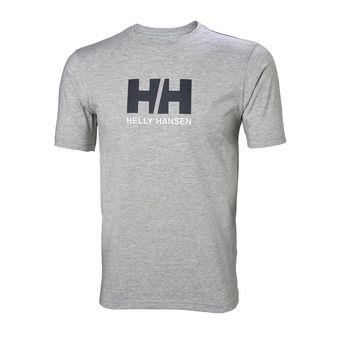 Helly Hansen LOGO - Tee-shirt Homme grey melange