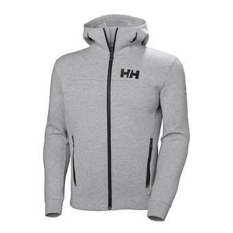 Helly Hansen OCEAN - Felpa Uomo grey melange
