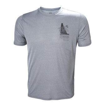 Helly Hansen CIRCUMNAVIGATION - Tee-shirt Homme grey melange