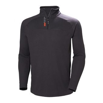 Sweat 1/2 zippé homme 54213 ebony