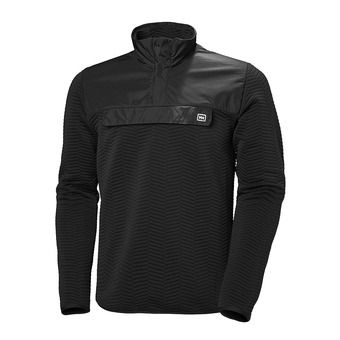 Sweat 1/2 boutonné homme LILLO ebony