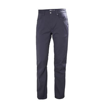 Helly Hansen HOLMEN - Pants - Men's - graphite blue