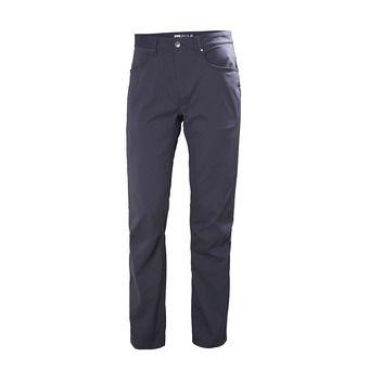HOLMEN 5 POCKET PANT Homme GRAPHITE BLUE