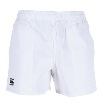 Canterbury PROFESSIONAL COTTON - Short Homme white