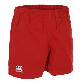 Canterbury PROFESSIONAL COTTON - Short hombre flag red