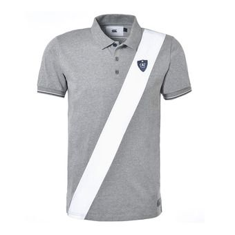Polo MC homme SKIPPERS mid grey melnage