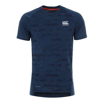 Canterbury VAPODRI PERF COTTON - Camiseta hombre teal marl