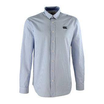 Canterbury BARLOW - Camisa hombre striped sky blue
