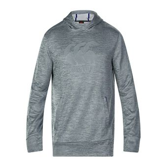 Sweat à capuche homme VAPODRI TRAINING static marl