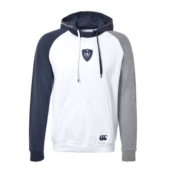 Sweat à capuche homme MACETOWN white