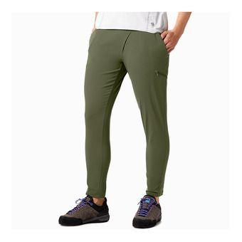 Mountain Hardwear DYNAMA ANKLE - Pantaloni Donna light army