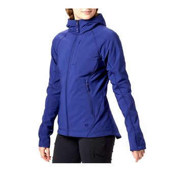 Mountain Hardwear KEELE - Chaqueta mujer dark illusion