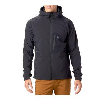 Mountain Hardwear KEELE - Chaqueta hombre black