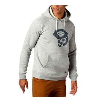 Mountain Hardwear HARDWEAR - Felpa Uomo heather grey ic