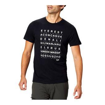 Mountain Hardwear SEVEN SUMMITS - Tee-shirt Homme black