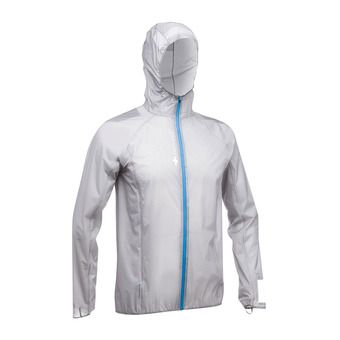 Veste à capuche homme HYPERLIGHT MP+ gris clair
