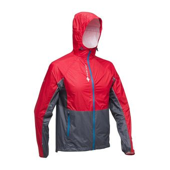 TOP EXTREME MP + JACKET Homme RED/GREY