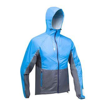 Veste à capuche homme TOP EXTREME MP+ bleu/gris