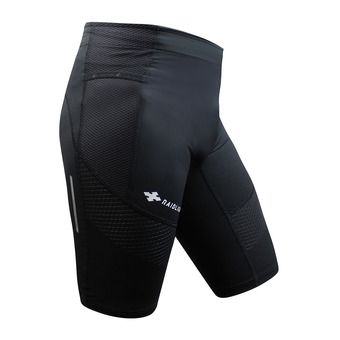 Raidlight STRETCH RAIDER - Mallas cortas hombre negro