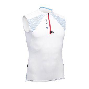 Camiseta sin mangas hombre PERFORMER blanco