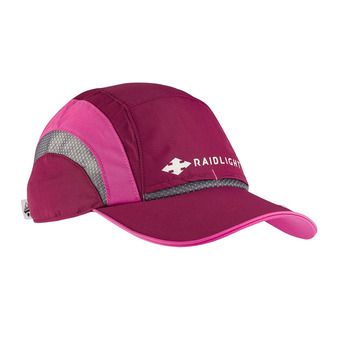 Raidlight R-LIGHT - Cappellino Donna granata/rosa