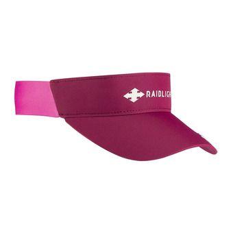 Raidlight R-SUN - Visiera Donna granata/rosa