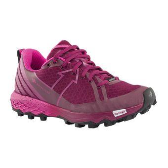 Chaussures de trail femme RESPONSIV DYNAMIC rose/pourpre
