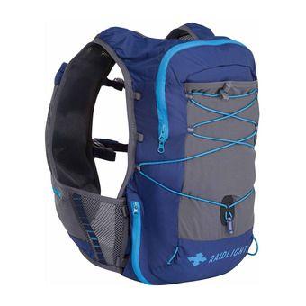 Mochila de trail 12L hombre ACTIV azul oscuro/gris