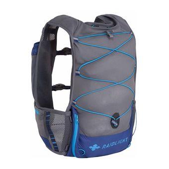 Mochila/chaleco de hidratación 3L hombre ACTIV azul oscuro/gris