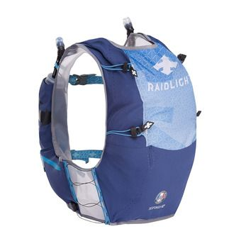 Mochila de trail 10-12L hombre RESPONSIV azul oscuro