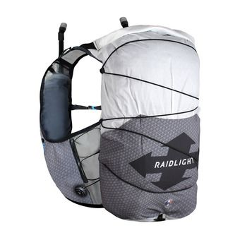 Raidlight REVOLUTIV 24L - Zaino da idratazione grigio scuro/grigio chiaro