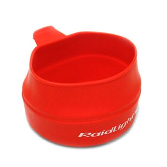Raidlight FOLDING ECO CUP - Gobelet 250ml rouge