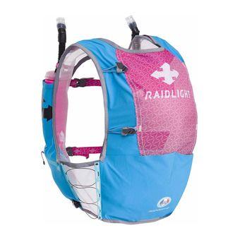 Mochila de trail 6L mujer RESPONSIV azul/rosa