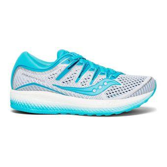 Saucony TRIUMPH ISO 5 - Chaussures running Femme blanc/bleu