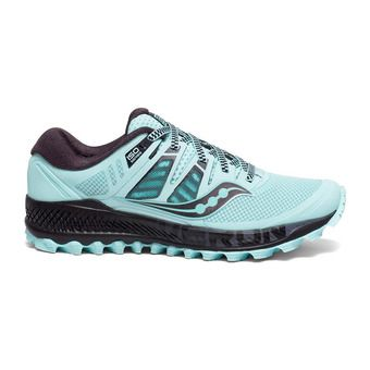 Saucony PEREGRINE ISO - Chaussures trail Femme hibiscus/noir