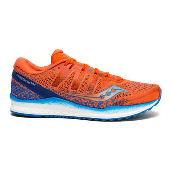 Saucony FREEDOM ISO 2 - Running Shoes - Men's - orange/blue