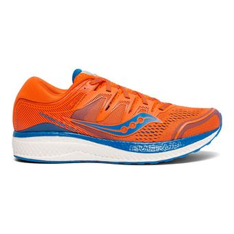 Saucony HURRICANE ISO 5 - Chaussures running Homme orange/bleu