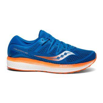 Saucony TRIUMPH ISO 5 - Chaussures running Homme bleu/orange
