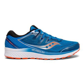 Saucony GUIDE ISO 2 - Chaussures running Homme bleu/orange
