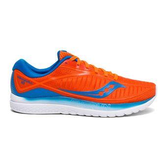 Saucony KINVARA 10 - Zapatillas de running mujer naranja/azul