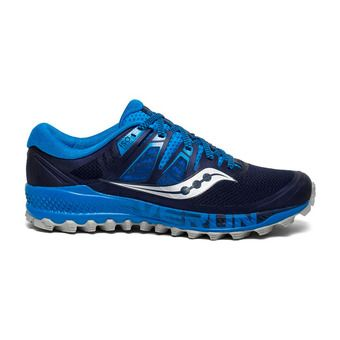 Saucony PEREGRINE ISO - Chaussures trail Homme bleu/marine
