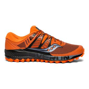 Saucony PEREGRINE ISO - Chaussures trail Homme orange/noir