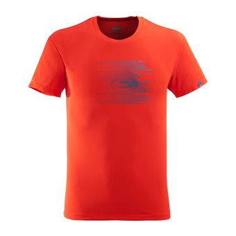 Tee-shirt MC homme STREAM red eider