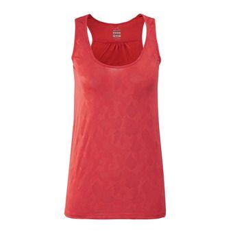 Eider FLEX JACQUARD - Camiseta de tirantes mujer spicy coral