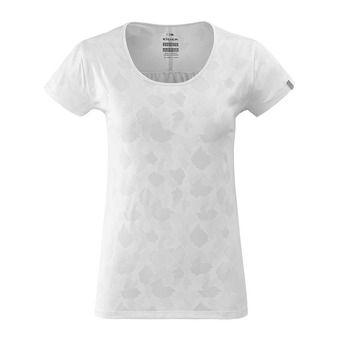 Tee-shirt MC femme FLEX JACQUARD white