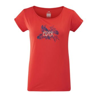 Eider STREAM - Camiseta mujer spicy coral