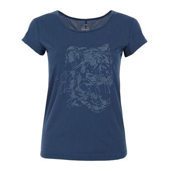 Tee shirt FLEX TEE W Femme STORM BLUE