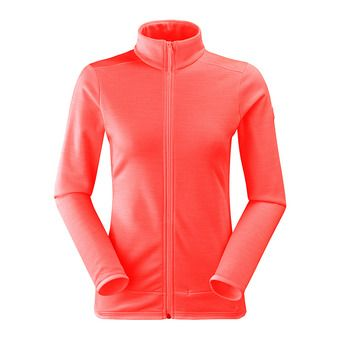Polaire femme STREAM spicy coral