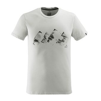Eider YULTON - Camiseta hombre misty grey
